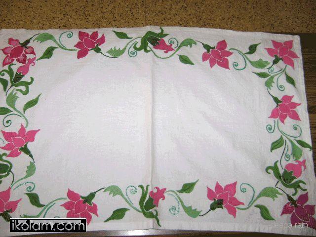 Fabric Paint Table Cloth Fabric Paint Pinterest