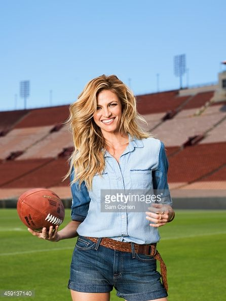Reporter Erin Andrews is photographed for Men's Health Magazine on June 3 2014 in Los Angeles California ON DOMESTIC EMBARGO UNTIL JANUARY 1 2015 ON...