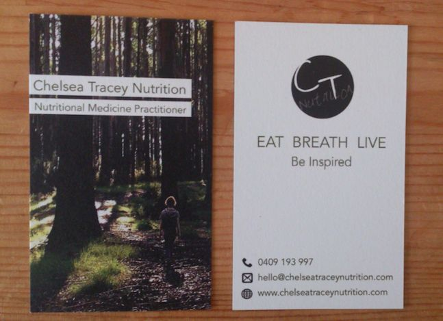 New Business Cards Arrived!