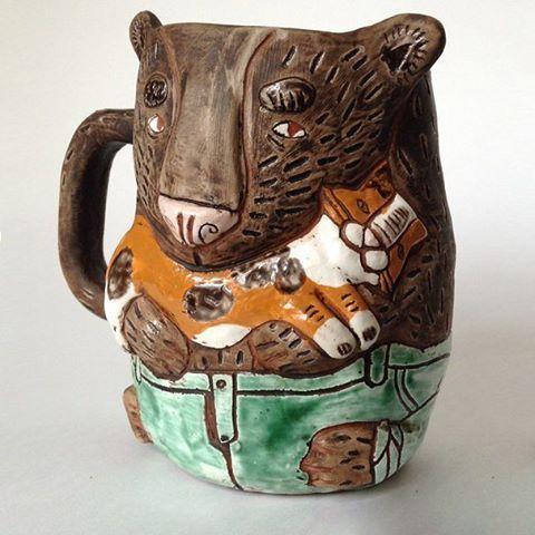 А на Ярмарке Мастеров началась тематическая неделя «Братец медвежонок»: это тысячи тематических товаров, интересные публикации и красивые мастер-классы. Активная ссылка в профиле ☝  #livemaster #ярмаркамастеров #handmade #art #design #ручнаяработа #тематическаянеделя #week #bear #медведь #тедди #мишка #медвежонок #керамика #кружка #ceramic #cup