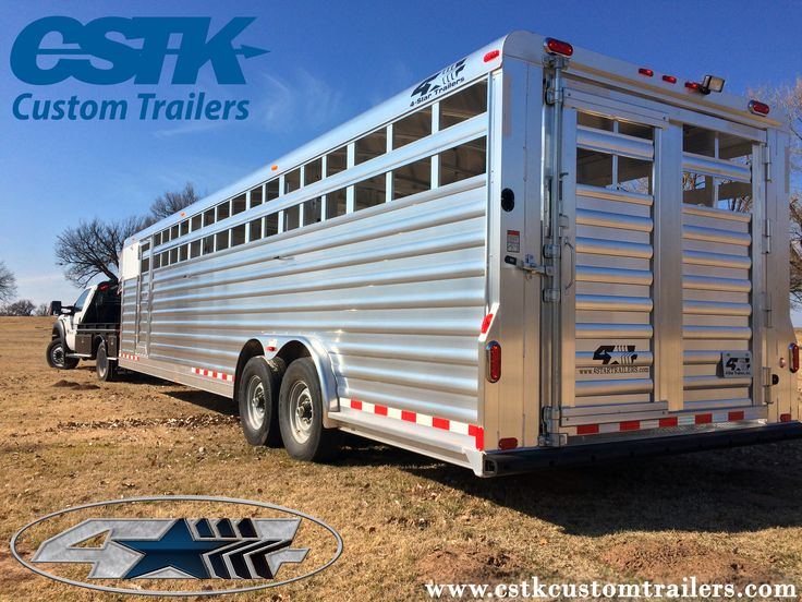 d68330ea120a7f10c18f2135982ecd46 livestock trailers horse trailers 16 best kiefer trailers images on pinterest custom trailers 4 star trailer wiring diagram at soozxer.org