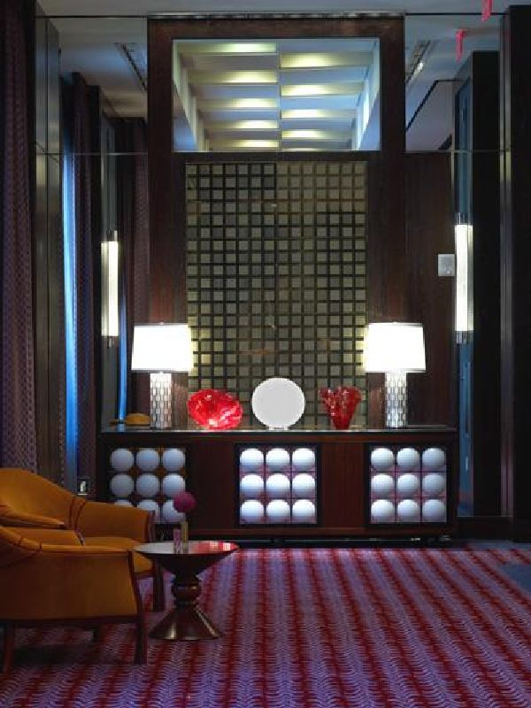 Room Layout And Lighting View In Awesome Interior Design For The Joule Hotel Dallas Texas
