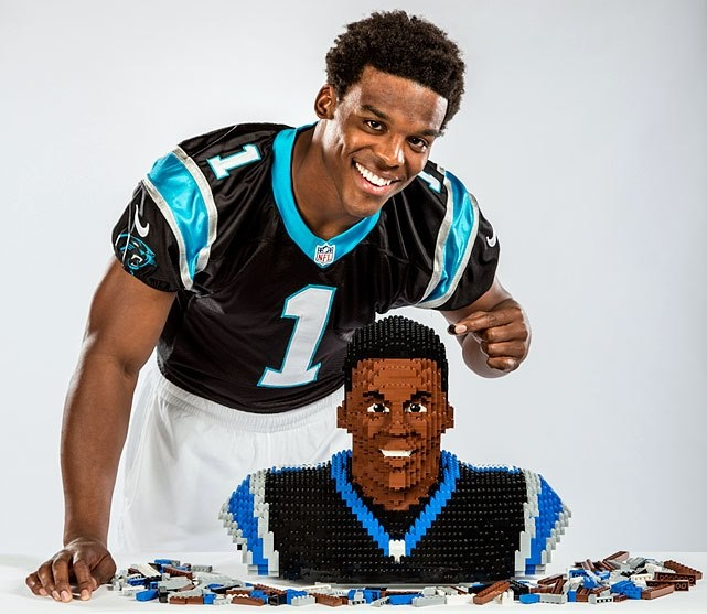 from Carolina Panther's Behold Lego Cam Newton!