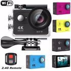 """﹩54.99. Original EKEN H9R Waterproof WiFi Sport Action Camera 1080P 4K Travel Camcorder   Type - Helmet/Action, Storage Type - Removable (Card/Disc/Tape), Recording Definition - Ultra High Definition, Screen Size - 2.0"""", Features - Built-In Wi-Fi,LCD Screen,Waterproof, Storage - Micro SD Card, Battery - Rechargeable 1050Mah Lithium Battery, Input/Output - Micro USB Port HDMI, Built-in Wi-Fi - 802.11 B/G/N, Resolution of video recorded - 4K@25FPS; 2.7K@30FPS;1080P (1920*1080 ) 60FP"""
