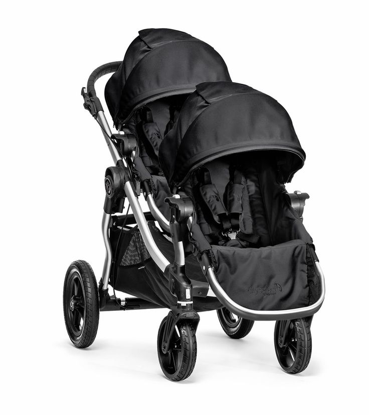 Includes City Select Stroller and Second Seat Kit. With a few simple clicks, the City Select® Second Seat Kit turns your City Select® Single into a City Select® Double!