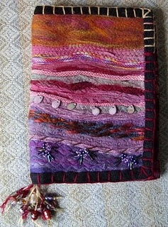 Book cover, kindle cover, purse, whatever, no tutorial but lots of pics