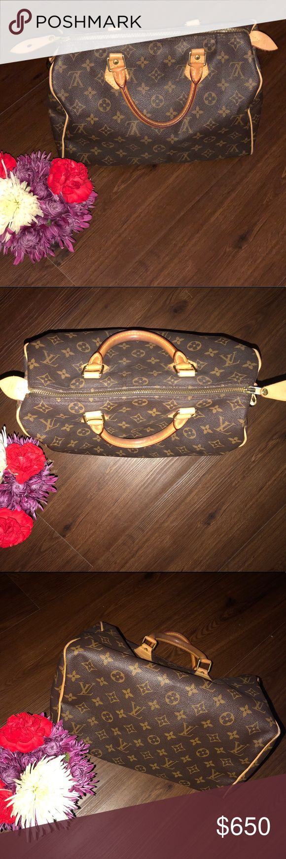 AUTHENTIC Louis Vuitton Purse 👜 ✨ Almost 50% off the original price! It's in excellent condition & yes, it is a real Louis Vuitton 😍✨ The only imperfections are tiny marks that are inside the actual bag but they are very minimal and not really that noticeable. It comes with a Louis Vuitton lock & key. I'm adding a beautiful mystery item to whoever purchases this gorgeous LV classic  💕☺️ If you have any questions please don't hesitate to ask! & I'm always willing to negotiate to find the…