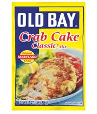 INGREDIENTS  1 package OLD BAY® Crab Cake Classic Mix  1/2 cup mayonnaise  1 pound fresh crabmeat, drained and cartilage removed  OLD BAY® TARTAR SAUCE     DIRECTIONS  In a large bowl, mix Crab Cake Mix and mayo. Add crabmeat and gently toss until well mixed. Shape into 6 patties.     Broil or fry 5 minutes per side or until browned, turning once. Serve with tartar sauce.   TIPS  Substitute for Fresh Crab: 2 (6-ounce cans) crabmeat, drained