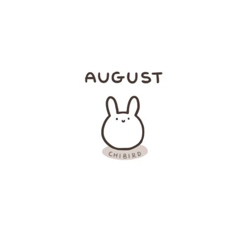 Happy August~ Here's to a sweet summer's end. <3