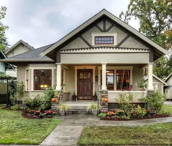 1000 ideas about bungalow exterior on pinterest bungalows craftsman bungalow exterior and - Craftsman bungalow home exterior ...