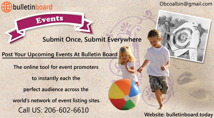 Bulletin Board Today is an amazing online portal to advertise your events, product promotions and classified ads, which gives special attention about ads size & placement online. Everyone has a brilliant portfolio and need to execute bigger. Bulletin Board Today has come into its own to use them and provide online attention and imagination with the targeted audience.