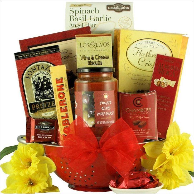 Italian Romance: Anniversary Gift Basket #anniversarygifts #weddinganniversarygifts