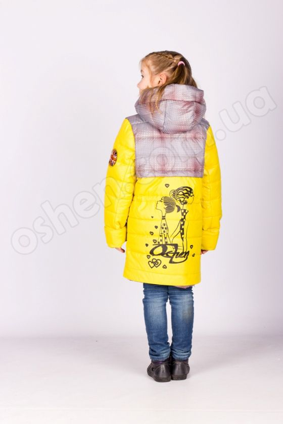 Демисезонная куртка для девочек «Точка»