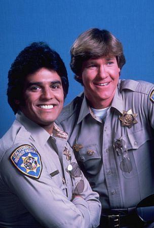 """""""CHIPS"""" Erik Estrada, Larry Wilcox 1978 NBC"""