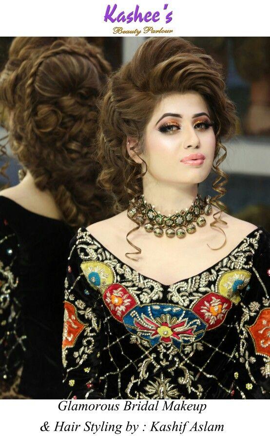 Glamorous makeup n hairstyling by kashif aslam at Kashee's