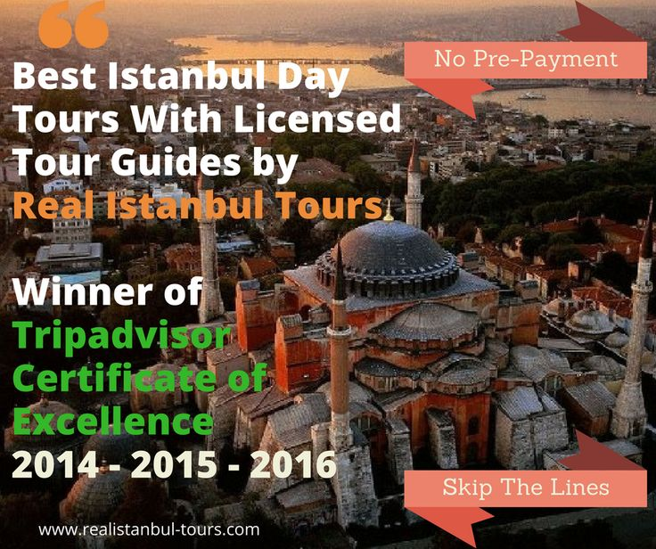 Best Istanbul tours by Real Istanbul Tours, Winner of Tripadvisor Certificate of Excellence  #tours #istanbul #turkey #istanbul tours #tripadvisor