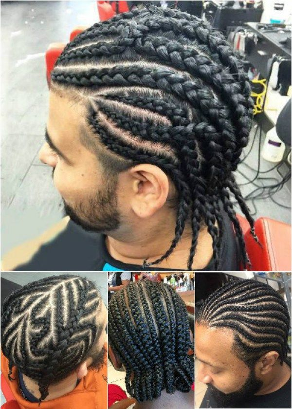 Cornrow Braids Hairstyle for men
