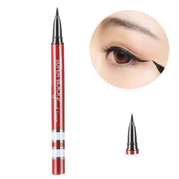 Magic Makeup Cosmetic Black Smooth Waterproof Liquid Eyeliner Pen Was: $4.58 Now: $2.09.