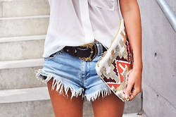 Bohemian chic weekend look: Fashion, Denim Short, Style, Clothes, Spring Summer, Outfit, Shorts, Closet