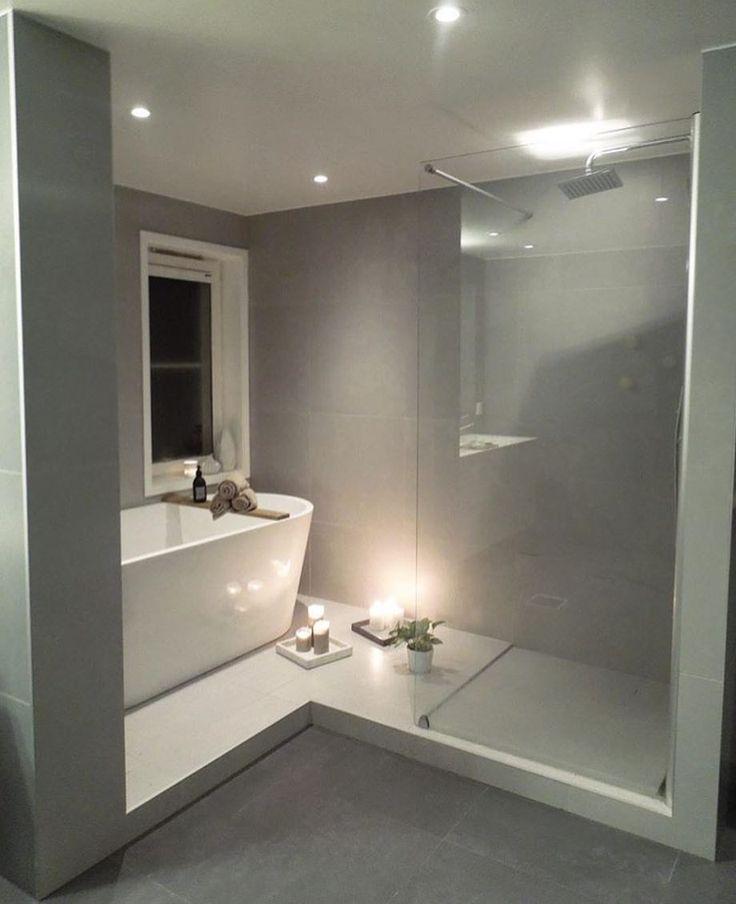 """2,235 gilla-markeringar, 14 kommentarer - INREDNING, TRENDER & INSPO! ✨ (@inredningsdesign) på Instagram: """"Flera av er vill ha tips när det gäller badrum. Här är en unik och underbar planlösning hur man på…"""""""