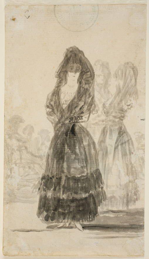 Goya en El Prado: Maja de paseo