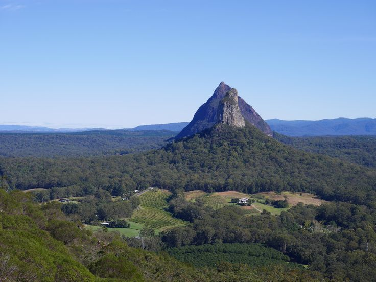 Love walking in the Glass House Mountains Spectacular veiws!