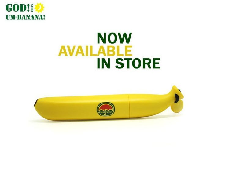 Banana Umbrella Um-banana Yellow  Novelty Umbrella High Quality Brand Banana Shaped Clear Rain Umbrellas Free Shipping CLSK
