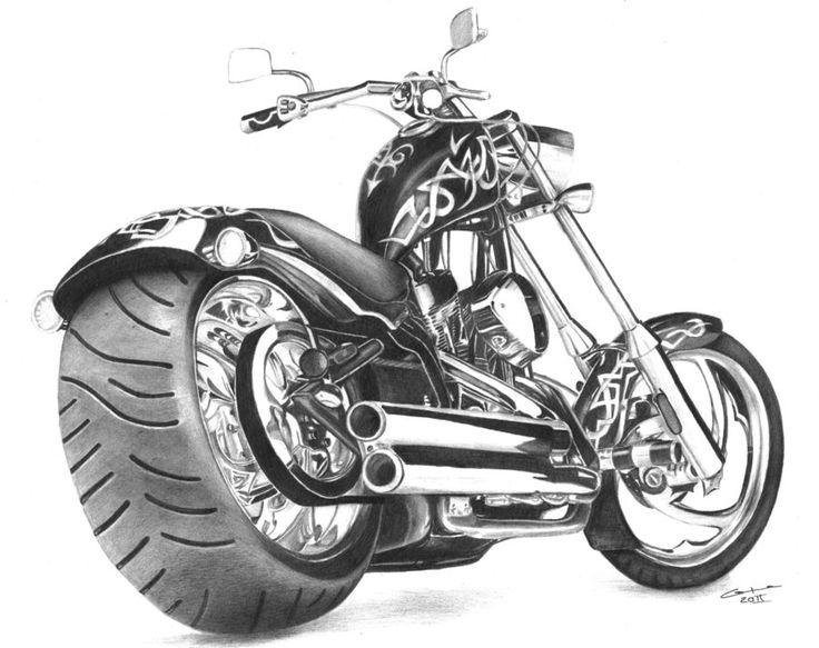 Motorcycle by Gunchixs.deviantart.com on @DeviantArt