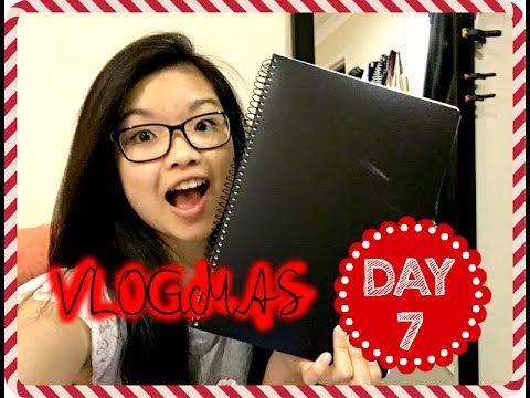 VLOGMAS Day 7, 2015 - My Fashion Sketchbook   Ginaslifee