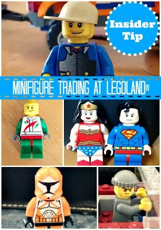 Minifigure Trading at LEGOLAND parks!  #Travel