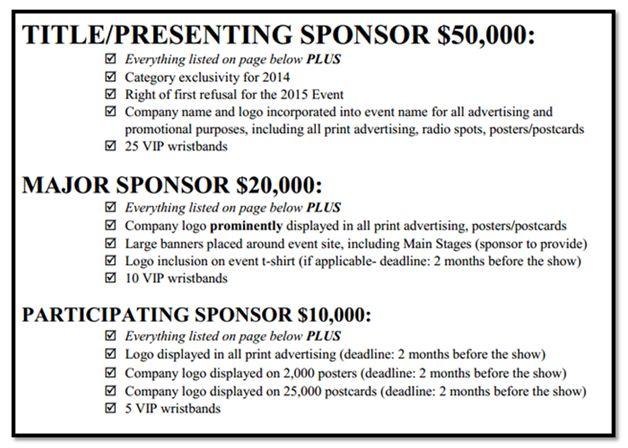 image result for sponsorship levels letter pta pinterest. Black Bedroom Furniture Sets. Home Design Ideas