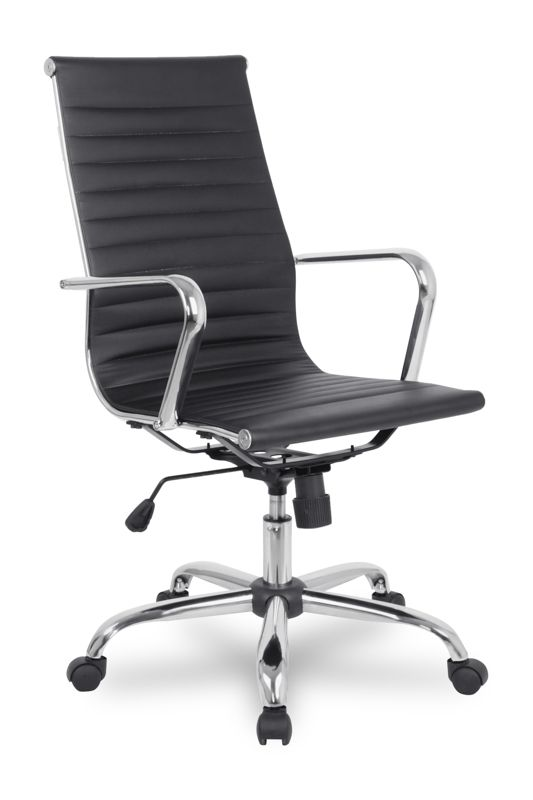 Кресло College H-966L-1 - отличное кресло, которое подойдет руководителю, любящему минимализм!  Это респектабельная и удобная модель, которая хорошо впишется как в офисный интерьер солидной компании, так и в  домашнего интерьер. Кресло отличается прочной конструкцией, обеспечивающей удобство при длительной работе.