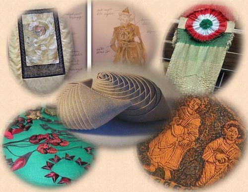 """Gouba lakók 2       A Gouba szerintem legérdekesebb """"lakója"""" Morvay Ibolya textilművész. Parányi asztalkáján textilből készült ékszereket találhat az érdeklődő. A Ráday utcában és galériákban, kiállításokon megfordulóknak ismerős lehet a Morvay név...."""
