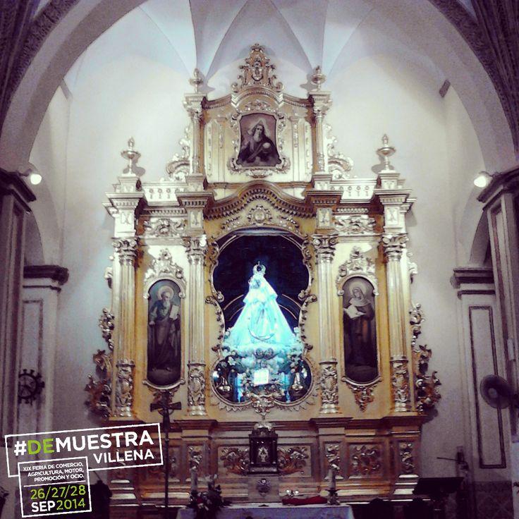 Después de las Fiestas de Moros y Cristianos, la Virgen de las Virtudes ha vuelto a su hogar hasta el próximo año.  #DeMuestraVillena www.muestravillena.villena.es www.facebook.com/Muestravillena @muestravillena