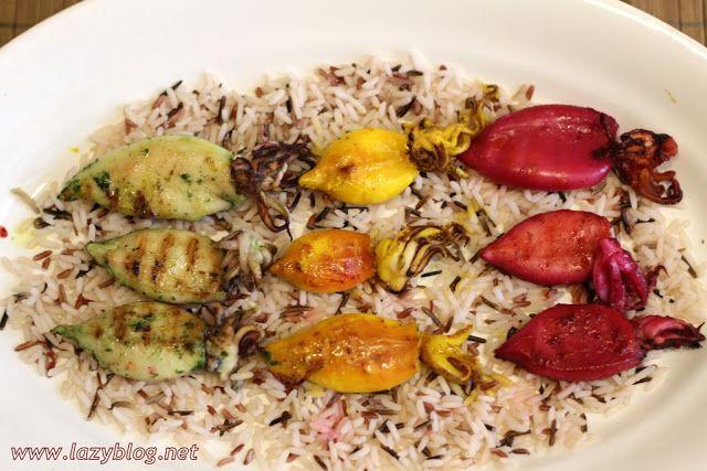 Lazy Blog: Increíbles calamares de colores con arroz