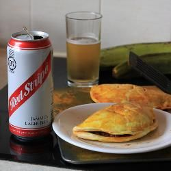 Jamaican patties,  here's a traditional recipe that beats the commercial stuff you buy from most West Indian takeaways or the stuff you buy in packets that gives you next to no amount of meat. This recipe depends on the amount of heat that you like. I personally would add 5 scotch bonnet peppers