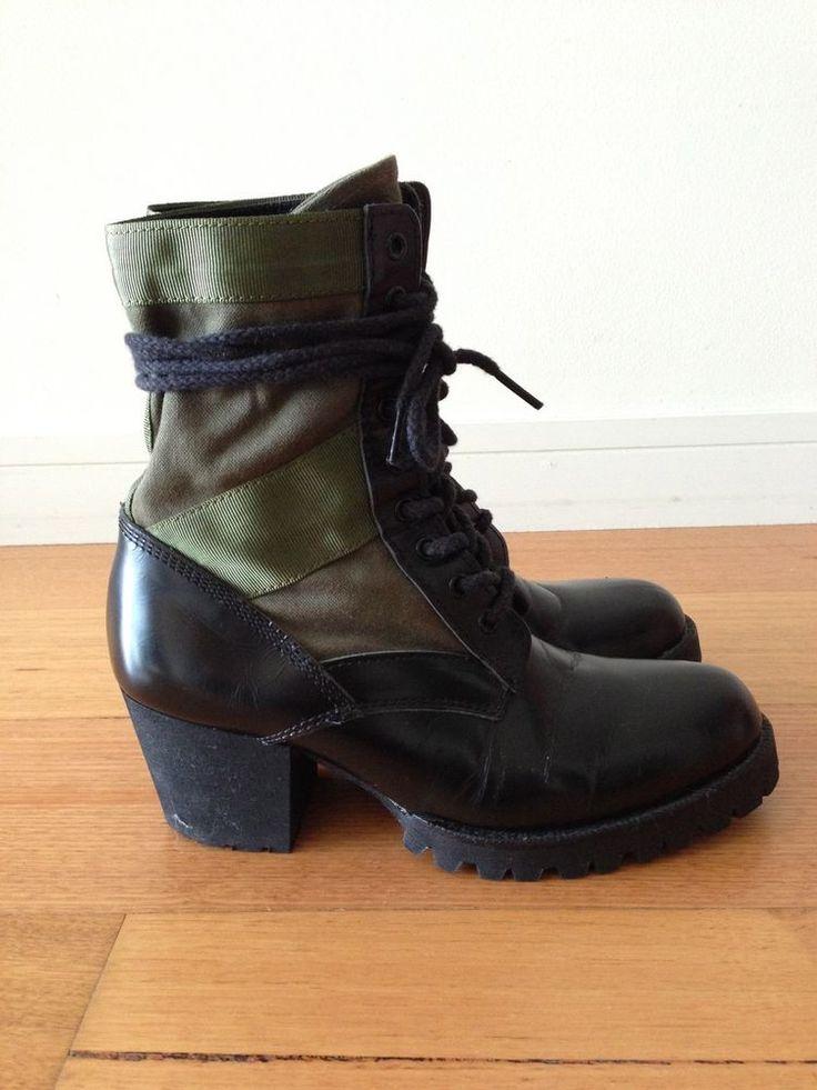 Junya Watanabe Womens Military Boots