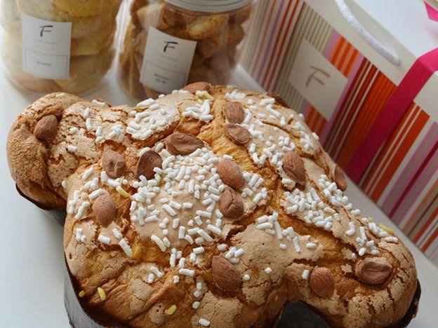 期間限定! イタリア菓子職人の父が作るパスクアのお菓子「コロンバ」Gino Fabbri Pasticcere(ジーノ・ファッブリ パスティッチェーレ)