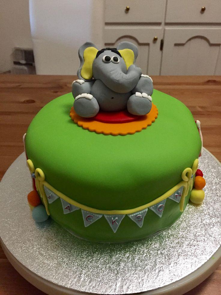 Jackson's 1st Birthday Cake