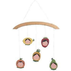 Móvil decorativo frutitas