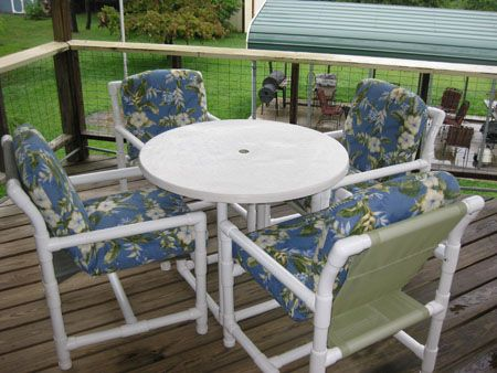PVC Patio chair plans free pdf