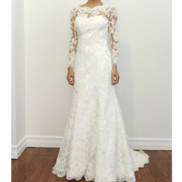 Long Sleeve Lace Wedding Dress By Kendra If I Was Having A Winter