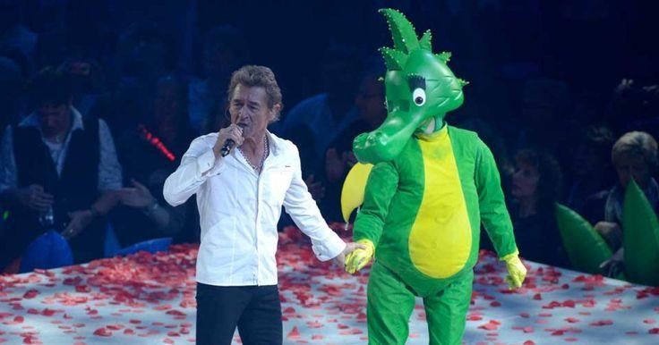 """Mit seinen Rockmärchen rund um den grünen Drachen """"Tabaluga"""" begeisterte Peter Maffay Kinder und Erwachsene."""