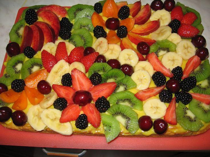decorare con la frutta le torte - Cerca con Google | Torte ...