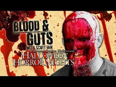 HALLOWEEN HORROR NIGHTS: Blood and Guts with Scott Ian - YouTube