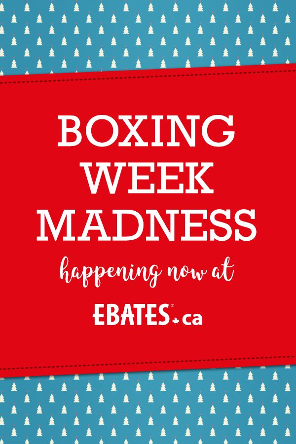 Let's get shopping during Boxing Week! Shop with Ebates.ca for the best coupons, promo codes and hottest deals! 100+ stores at DOUBLE Cash Back... Start shopping, Savvy Shoppers! #EbatesCABoxingDay