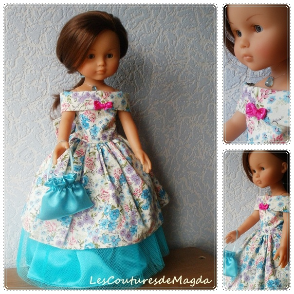 Chéries corolle robe trop jolie