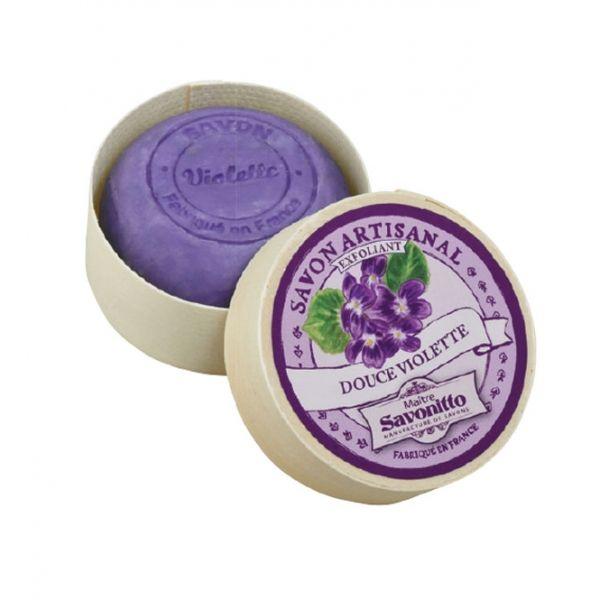 Savon Exfoliant Artisanal Violette