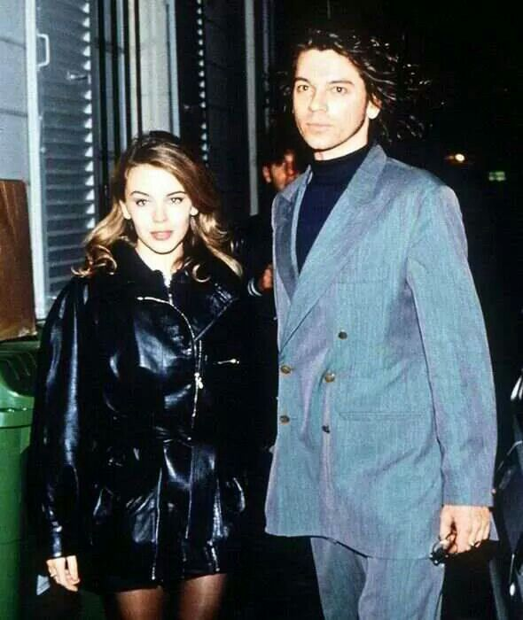 Kylie Minigue and Michael Hutchence