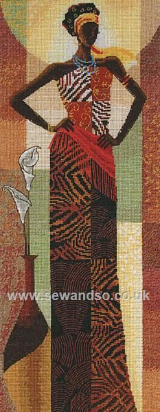 Buy Amira Cross Stitch Kit online at sewandso.co.uk